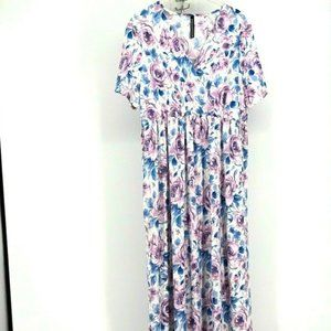 Rags & Couture Women Floral Maxi Dress